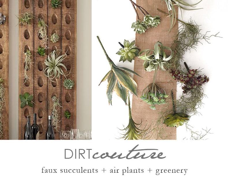 f4d8ad1d19 Riddling rack plant collection faux air plants faux