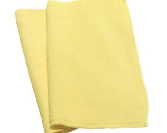 Yellow- Microfiber Reusable Pad Refill compatible with  Sweeper- Set of 2 (Inv #14003)