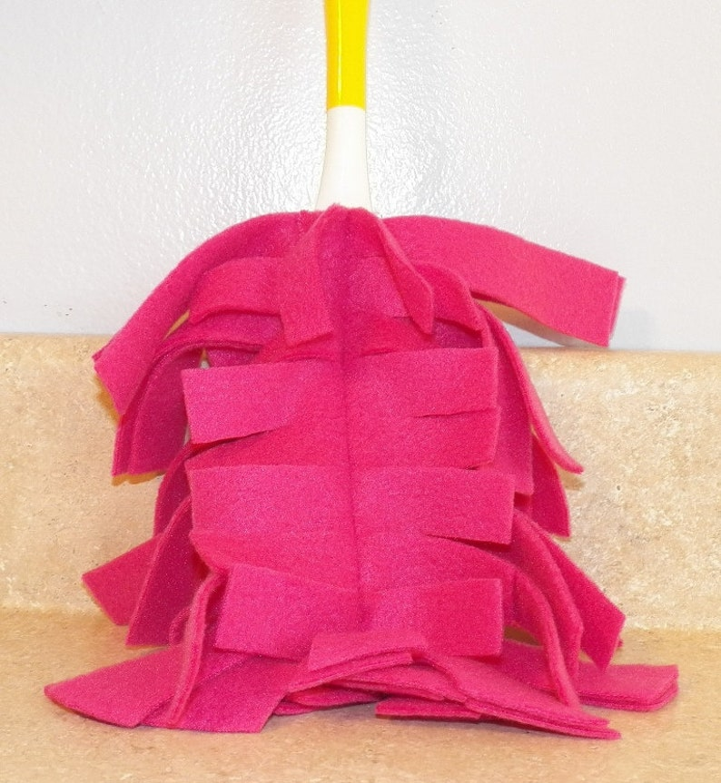 Fleece Reusable Duster Refill compatible with Duster PINK image 0
