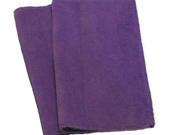 Purple- Microfiber Reusable Pads Refill compatible with Sweeper- Set of 2 (Inv #14006)