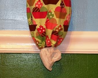 Ice Cream Sundaes- Grocery Bag Dispenser- Plastic Bag Holder (Inv #7015)