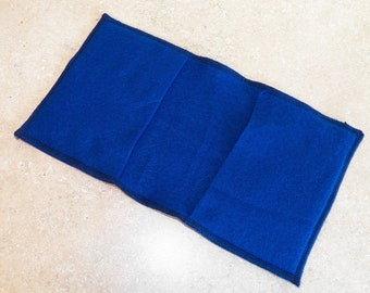 BLUE- Fleece Reusable Pad Refill compatible with Sweeper- Set of 2 (Inv #25005)