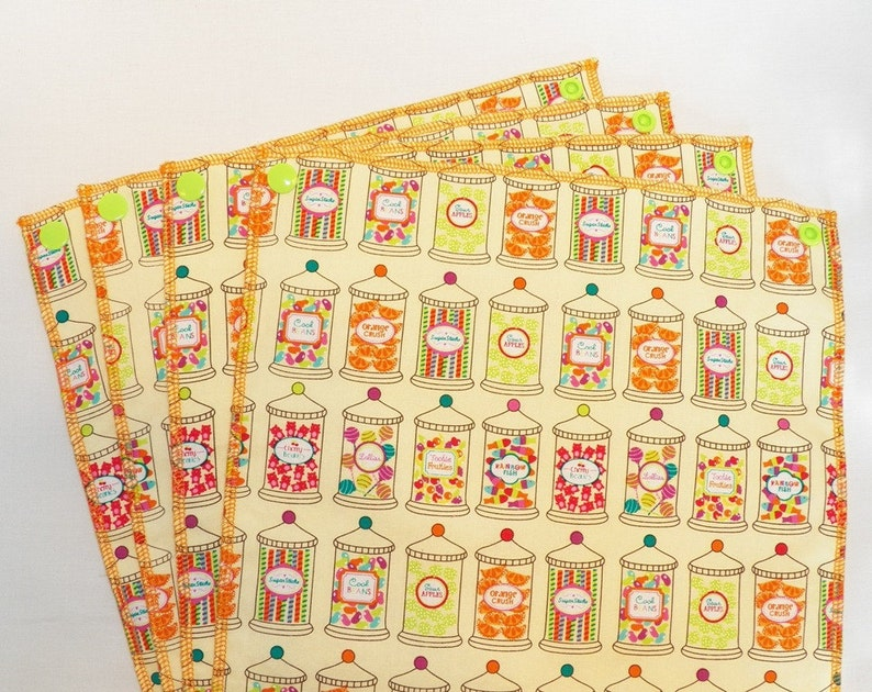 UnPaper Towels Cleaning Cloths Eco friendly Set of 9 Candy image 0