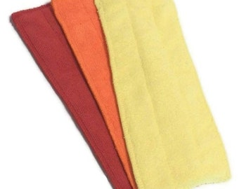 WARM Color Combo- Microfiber Reusable Pad Refill compatible with WetJet-  Set of 3 (Inv #13014)