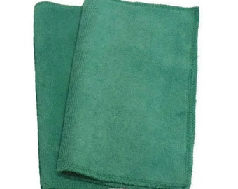Green- Microfiber Reusable Pad Refill compatible with  Sweeper- Set of 2 (Inv #14004)