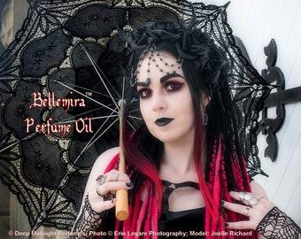 BELLEMIRA™ Perfume Oil - Golden Amber, Ripe Raspberries, Absinthe, Sugar Crystals, Spice - Gothic Perfume - Fantasy Perfume