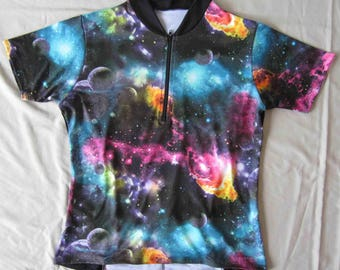 SALE - Women's bike jersey - All Spaced Out Print - Cycling Top multiple sizes and styles available