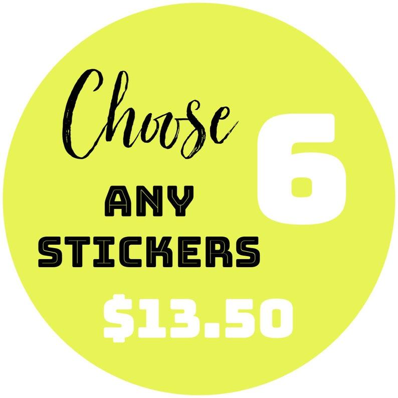 Buy Any 6 Planner Stickers  Planner  Erin Condren Planner  image 0