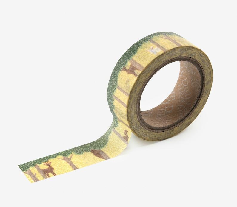 150 Forest Animal Washi Tape  Craft Supplies  Scrapbooking  image 0