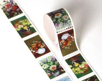 Flower Stamp - Scrapbook - Card Making - Planner Sticker - Bullet Journal - Bible Journal - Planner - Plan with me - Bujo