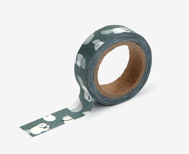 Persian Cat Washi Tape  Craft Supplies  Scrapbooking  image 0