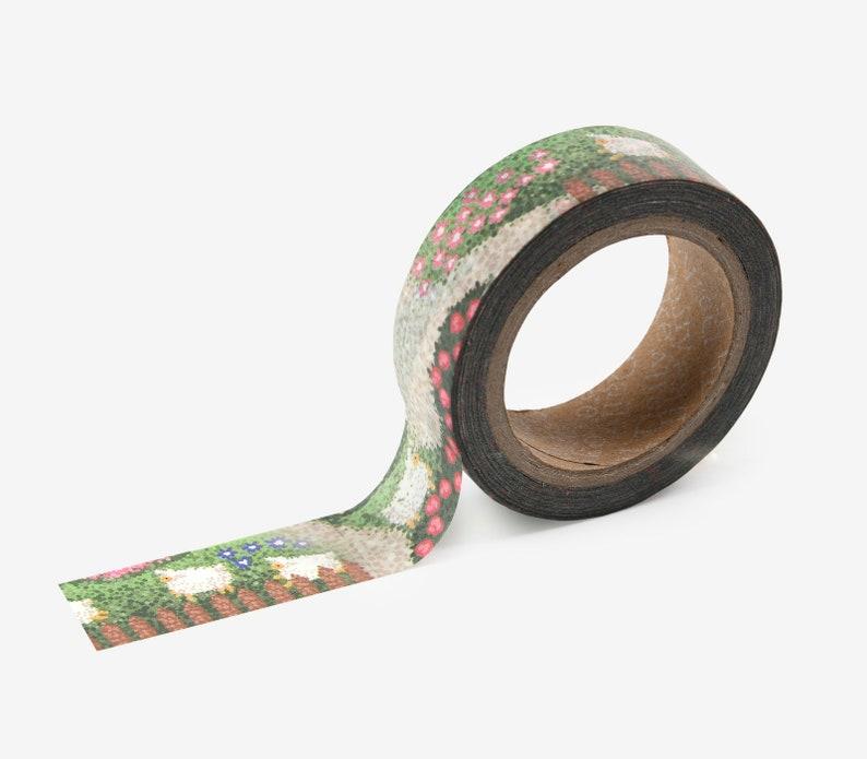 149 Lamb Washi Tape  Craft Supplies  Scrapbooking  Planner image 0