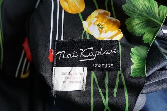 Vintage 70's Bold Tulip Print Chic Dress - image 6