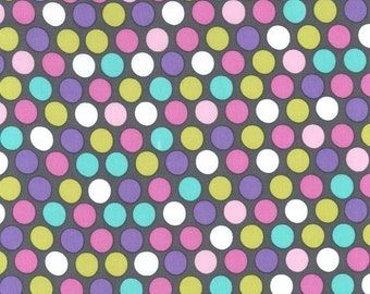 Zoology Orchid Diddly Dot for Michael Miller, 1/2 yard