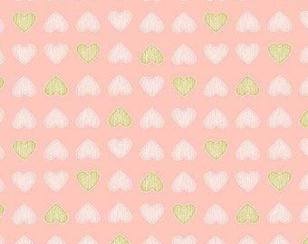 Believe Heart of Gold Blossom by Sandra Clemons for Michael Miller, 1/2 yard