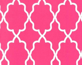 Moroccan Lattice Pink for Michael Miller, 1/2 yard