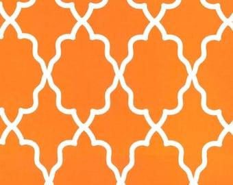 Moroccan Lattice Orange for Michael Miller, 1/2 yard