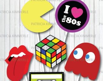 80s theme party etsy
