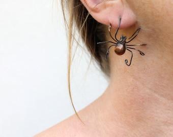 Spider earring smaller