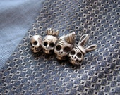 Party of the dead, pin brooch