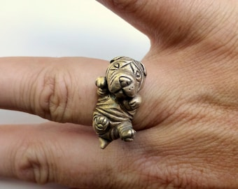 Shar pei puppy dog ring