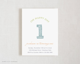 Birthday Invitations | Happy Day