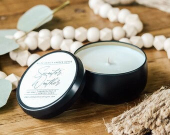 Sweater Weather Soy Handpoured Candle