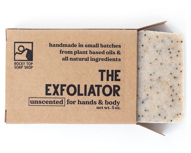 The Exfoliator  Scrub Soap Exfoliating Soap Bar All Natural image 1