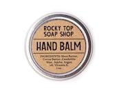 Hand Balm, Unscented  Hand Balm, Vegan Hand Balm, Winter Skin Balm, Dry Skin Balm, Moisturizing  Balm, Gardeners Balm, Hand Balm Tin