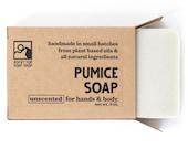Pumice Soap - Exfoliating Soap, Unscented Soap, Homemade Soap, Vegan Scrub Soap, Cold Process Soap, All Natural Soap, Vegan Hand Soap