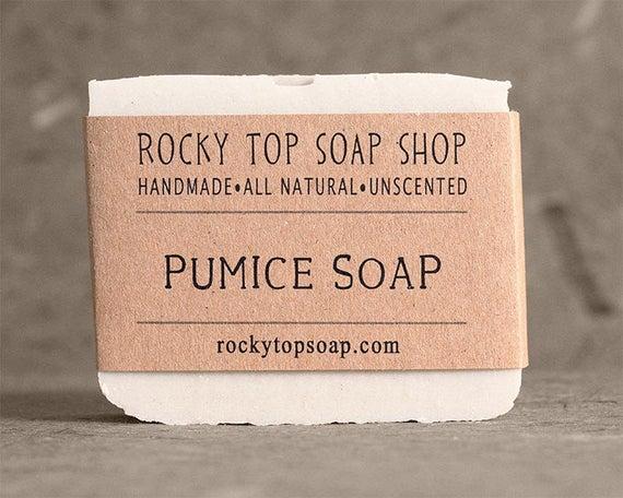 savon pierre ponce exfoliant au savon savon non parfum etsy. Black Bedroom Furniture Sets. Home Design Ideas
