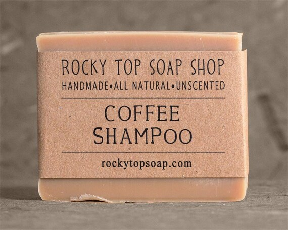 Natural SoapUnscented Cold Handmade Shampoo All Solid Coffee Vegan Bar With Process Soap mN08OnywPv