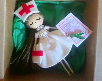 Nurse brooch - nurse brooch - nurse doll - classical nurse - gift for  nurses - nurse doll - nurse pin b5c4c6220f