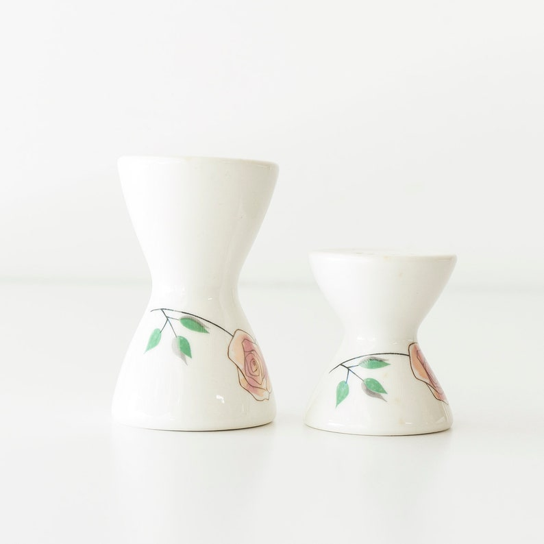 Vintage Mid Century Modern Ben Seibel Iroquois Rosemary Rose Salt /& Pepper Shakers