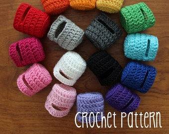 PATTERN Tutorial Crochet Basic Mary Jane Shoe - Waldorf Doll Pattern