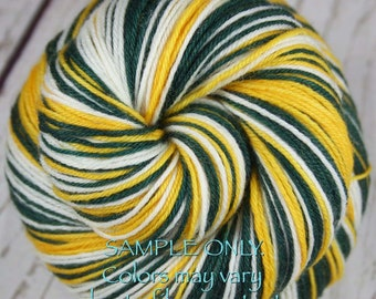 Packers Green Yarn Etsy