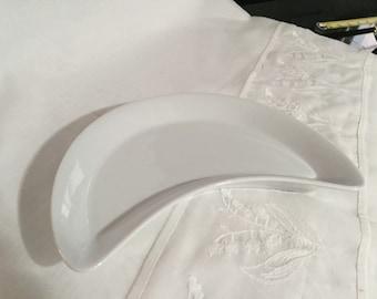 Pillivuyt France Dish Culinaire White/JUST REDUCED/ Depuis 1818 / White Porcelain Dish/ Side Dish/Bone Dish/By Gatormom13