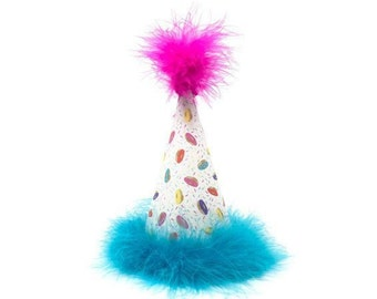 Mini Donuts Dog Birthday Hat Donut Sprinkles Sweets Candy