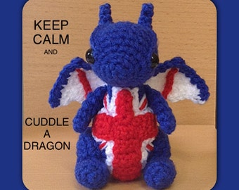 Patriotic dragon - Made to Order