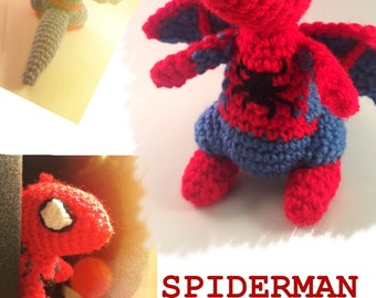 Spiderman Dragon - Made to Order