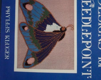 Needlepoint Patterns Victorian Designs by Phyllis Kluger Softcover Instructional Book Embroidery Book