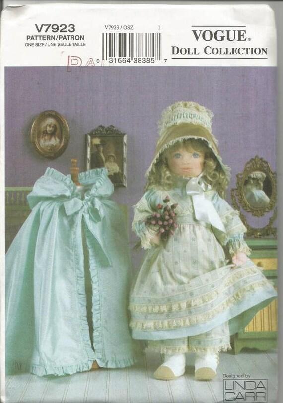 Viktorianische Puppe Kleidung Muster Linda Carr 18 Puppe