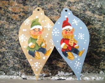 Christmas Elves - Pack of 2 - FREE Shipping