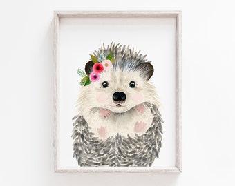 Hedgehog Baby Shower Etsy