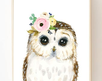 animal paintings etsy