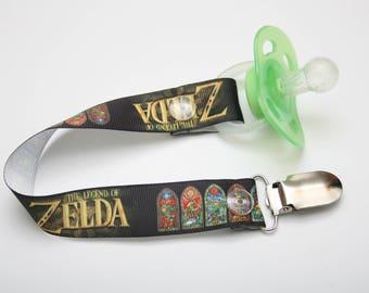 Geek Baby LEGEND OF ZELDA Clip for Dummy Pacifier