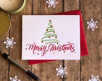 Christmas Card Set (8), Hand-painted, MIX & MATCH