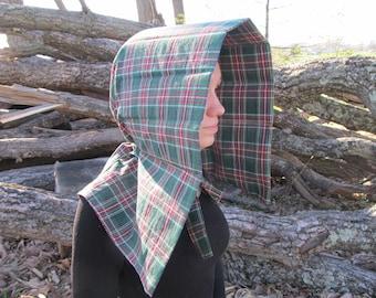Slat bonnet -Choice of fabric - historic reenactment/reenacting - prairie, civil war, wild west, little house, trek - sun, working bonnet