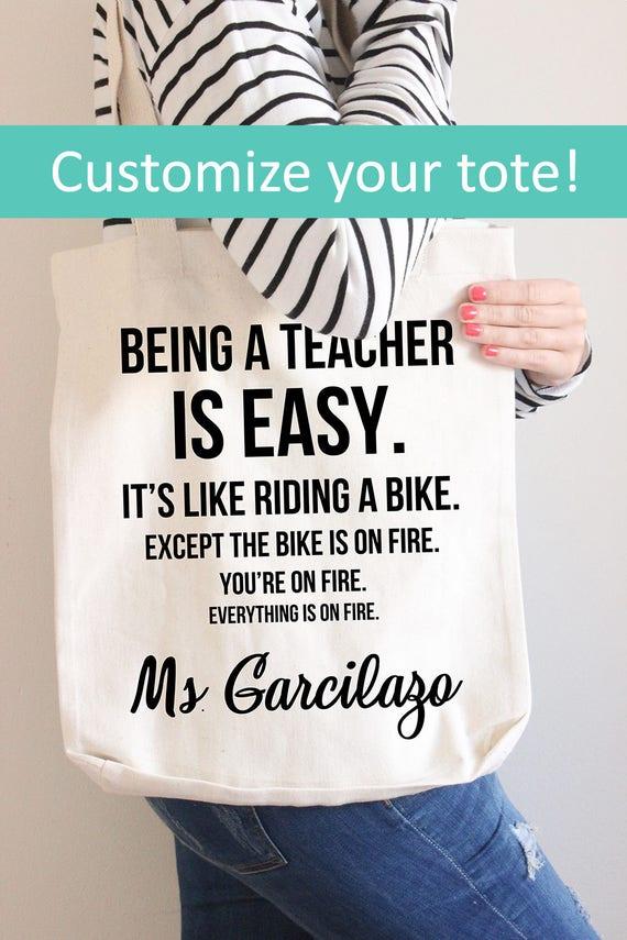 Als Lehrer ist Easy™ Lehrer-Geschenk lustiges Geschenk für | Etsy