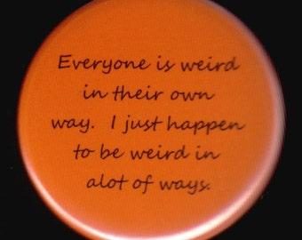 Very Weird Button